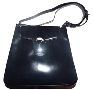 Salvatore Ferragamo Mint Vintage Metallics Dressy Or Casual Mod And Linear Hard And Boxy Shoulder Bag