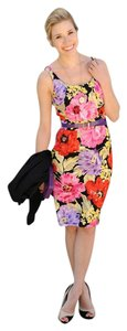 Banana Republic Floral Night Out Work Classic Fitted Dress