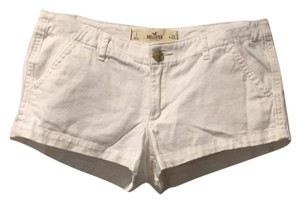 Hollister Dress Shorts White