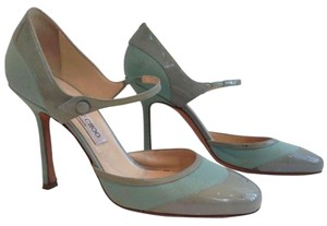 Jimmy Choo Teal and baby blue Pumps