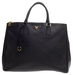 80cc5a0b912b Added to Shopping Bag. Prada Leather Tote. Prada Double Lux Saffiano Large  ...