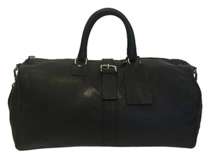 Cole Haan Leather Black Travel Bag