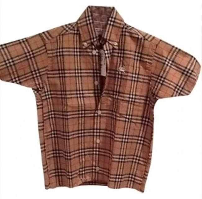 Burberry Button Down Shirt plaid