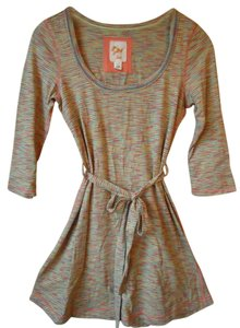 Anthropologie C Keer Cotton Belted Tunic