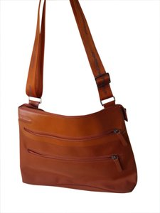 Piquadro Orange Travel Bag