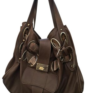 Jimmy Choo Tote in Brown/Tan