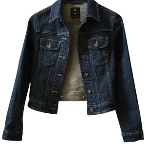Colin's Jeanswear Dark blue denim Womens Jean Jacket