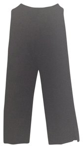 St. John Wide Leg Pants Navy
