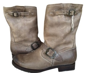 Frye Veronica Short Slate Sz 9 New In Box Distressed Boots