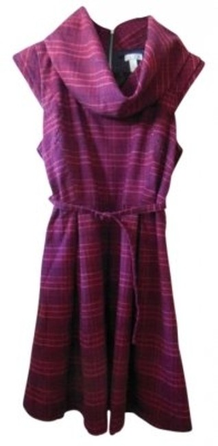 Preload https://img-static.tradesy.com/item/179748/go-international-dark-burgundy-red-and-navy-plaid-knee-length-short-casual-dress-size-10-m-0-0-650-650.jpg