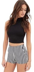 Charlotte Russe Mini/Short Shorts Black and white