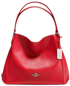 Coach Leather Edie 31 Shoulder Bag