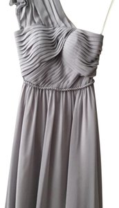 Gray Bridesmaid Dress (by For Her And For Him) Dress