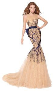 Tarek Ediz Lace Evening Sleeveless Dress