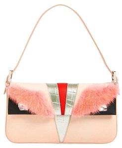 Fendi Monster Mink Fur Baguette