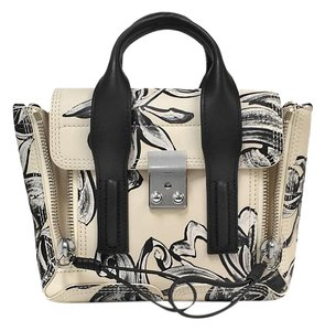 3.1 Phillip Lim Mini Pashli Floral Designer Leather Cross Body Bag