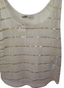Ambercombie Fitch Top White