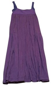Purple/navy Maxi Dress by Theory
