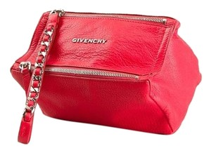 Givenchy New Tags Pandora Wristlet in Red