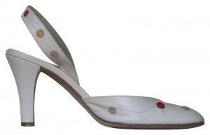 Marc Jacobs Polka Dot Pale Pink Pumps