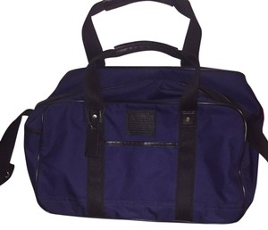 Coach Navy Travel Bag