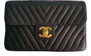 Chanel Maxi Chevron Shoulder Bag