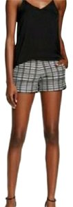 Ro & De Mini/Short Shorts plaid
