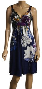 Elie Tahari short dress Blue on Tradesy