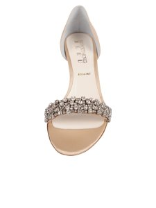 Something Bleu Bridal Champagne with Diamonds Mia Formal Size US 8 Regular (M, B)