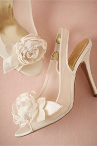 Brand New Freya Rose (for Bhldn) Bridal Shoes. Wedding Shoes