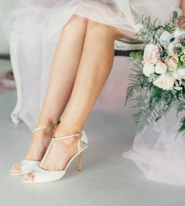Charlotte Mills Bridal Formal Shoes Wedding Shoes