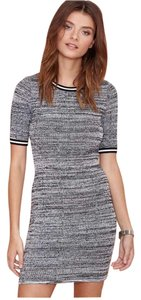 Nasty Gal short dress Gray on Tradesy
