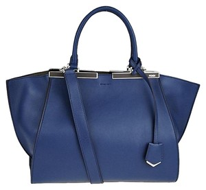 Fendi Satchel in Blue Coal