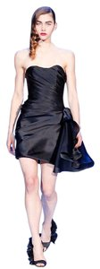 Christian Siriano Silk Lbd Nyfw Dress