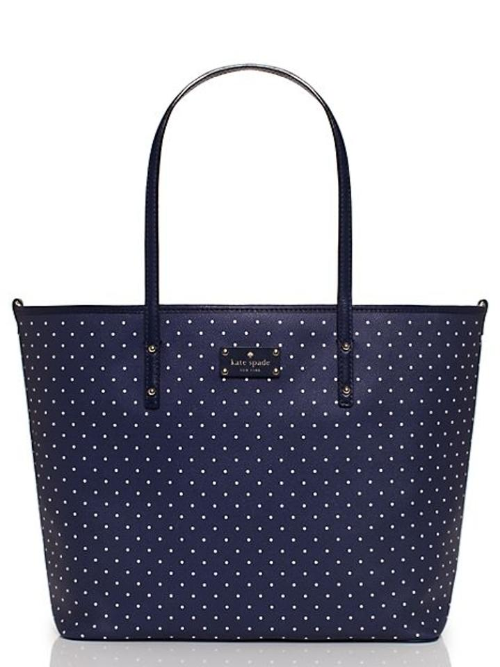kate spade kennywood harmony msrp 398 navy and white 34 off tradesy. Black Bedroom Furniture Sets. Home Design Ideas