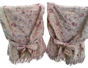 6 Bohemian Rustic Shabby Chair Covers ~ Great For Head Table!