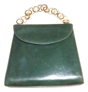 9bcc15bbadd9 Salvatore Ferragamo Gold Hardware Mint Vintage Early Dressy Or Casual True  1960 s Mod Satchel in deep