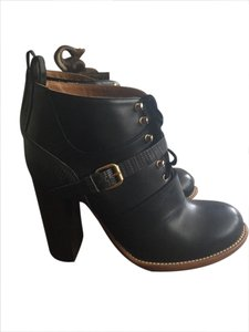 Chlo Black w. Buckles Boots