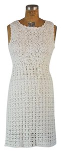 Diane von Furstenberg short dress Off white/Ivory on Tradesy