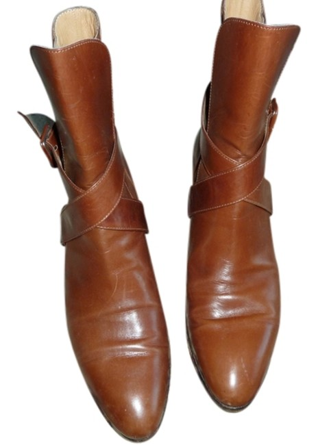 Item - Brown Caramel Leather Boots/Booties Size US 8 Narrow (Aa, N)
