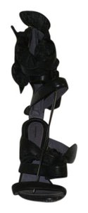 Emanuel Ungaro Black Sandals