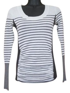 Takeout Striped Stretchy Sweater