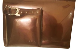 Brand New Beijo Dark Chocolate Messenger Bag