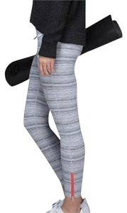 Lululemon LIKE NEW LULULEMON HIGH TIMES PANT CYBER STRIPE SIZE 4 GRAY