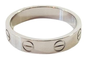 Cartier Cartier Love 18k White Gold Ring
