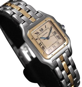 Cartier Cartier Panthere Two-Tone Mens Midsize / Unisex Watch, Date