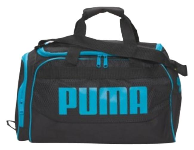 Item - Duffle ** ** Meduim / Blue/ Black Non Leather Weekend/Travel Bag