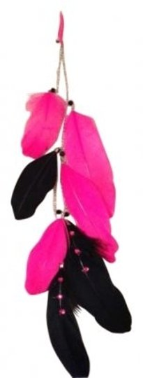 Preload https://item5.tradesy.com/images/feathers-pink-and-black-clip-hair-accessory-179834-0-0.jpg?width=440&height=440