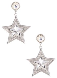 BCBGeneration BCBGENERATION CRYSTAL PAVE STAR STATEMENT EARRINGS