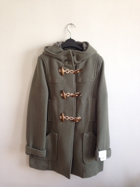 Item - Sage Green Duffle Hooded Toggle Coat Size 10 (M)